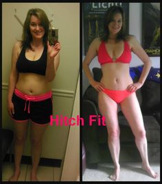 43 year old Mother Takes Back Control of her Body with Hitch Fit Online Personal Training Program!