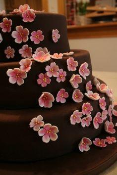 cherry blossom fondant flower - Buscar con Google