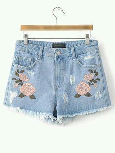 Shorts muito fofinho de flores