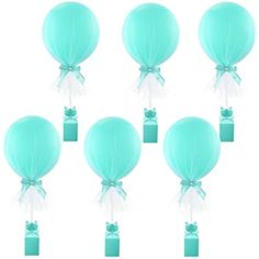 Amazon.com: Pink Tulle Balloons Tutu Balloon with Box Base Centerpieces for Baby Shower Girl Birthday Party Wedding Cake Table Decorations ,12 Inch Balloon White Tulle Cover, 6 Pack: Toys & Games Wedding Cake Table Decorations, Baby Shower Balloon Decorations, Blue Wedding Centerpieces, Party Table Centerpieces, Balloon Centerpieces, Graduation Decorations, Baby Shower Balloons, Baby Shower Centerpieces, Tulle Balloons