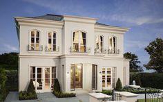 Gregorian vintage facade