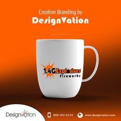 Branding Design, Logo Design, Fire Works, Logo Nasa, Creative Design, Stationary, Mugs, Tableware, Dinnerware