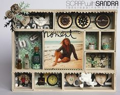 HOME DECOR SCRAPBOOKING SHABBY