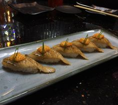 Aburi Hamachi Belly  #aburi #sushi by sarahbitesneats
