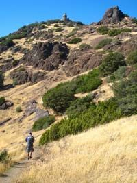 Thanks to hiking-trails-and-gear.com for this photo of Devil's Elbow and Mt. Diablo's summit.  Best playground EVER. San Francisco Bay Area