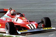 Lauda 1977 Holland Ferrari 312T3