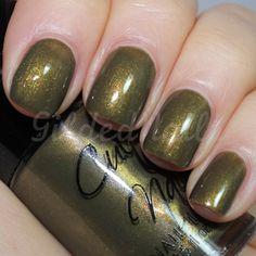 Unique and different! Cult Nails In a Trance (Gilded Nails) #CultNails #JointheCult