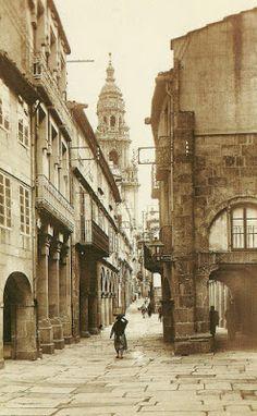Memorias de Compostela: calles
