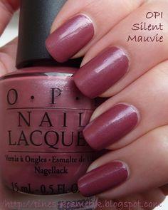 Tines Kosmetikblog: OPI Silent Mauvie