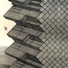 Leon Batista Alberti / brick wall patterns