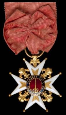 Order of Military Merit, Knight's breast badge, Second Restoration period, circa Military Honors, Military Awards, Military Ranks, Military Orders, Order Of The Garter, Grand Cross, Olympic Medals, 10 March, French Army