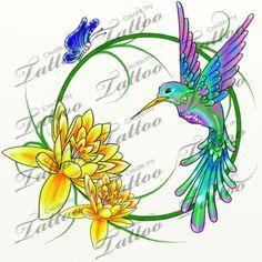 Marketplace Tattoo Hummingbird Tattoo #11613   CreateMyTattoo.com
