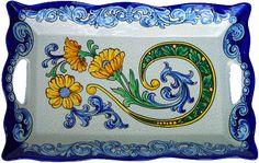 Ceramic tray - Spanish