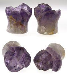 onetribe amethyst plugs,