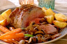 Roast Beef & Mushroom recipe | Meat recipes | Whats For Dinner