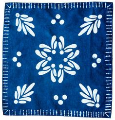 Carlyn Clark is a California based artist and designer who uses dye, stitch and design processes from around the world to create modern home textiles using handcrafted techniques. Textiles Techniques, Indigo Dye, Linen Tablecloth, Journal Covers, Shibori, Design Process, Home Textile, Linen Fabric, Ikat