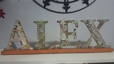 Alex mounted name