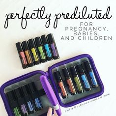 With this #EOPregnancySeries, safety and dilution is key. DōTERRA makes it very easy for us with the pre-diluted Touch kit, and now the pre-diluted Emotional Aromatherapy Touch kit. you can use all of these oils with confidence during your pregnancy, and on your little ones. That being said, always start with the most gentle option. For example, before trying to DigestZen, try Lavender.