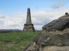 Grave Creek Mound Compass Point by WillynWV, via Flickr