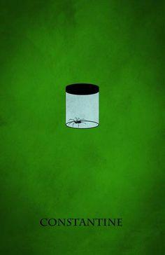 Constantine (2005) ~ Minimal Movie Poster by Mihir Desai