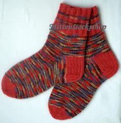 Angora wool socks Womens socks Hand knitted socks from melange colors angora wool Warm socks Gift idea Multicolor originally unisex socks