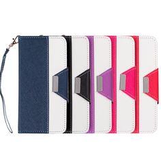 Samsung Galaxy S7 Princesa Wristlet PU Leather Case with Card Slots #PH-LPFSAMS7-PRSA