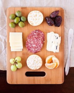 Armelle Blog: meat + cheese board ...