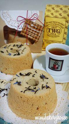 MiMi Bakery House: ♡ TWG French Earl Grey Chiffon Cake ♡