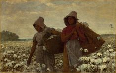 Winslow Homer, 'The Cotton Pickers', 1876
