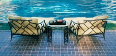 Richard Frinier Collection for Sunbrella - traditional - patio furniture and outdoor furniture - los angeles - Richard Frinier Collection