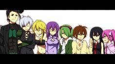 Night Raid Akame ga Kill Anime Bulat Najenda Leone Sheele Lubbock Tatsumi Akame Mine 1366x768
