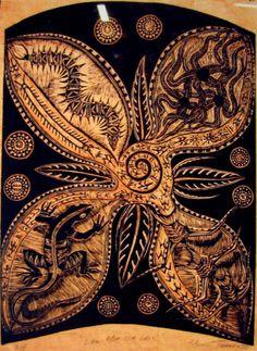 Olivia Young, Polynesian Art, Nz Art, Printmaking Ideas, Painters, Artwork, Ethnic, Flora, Students