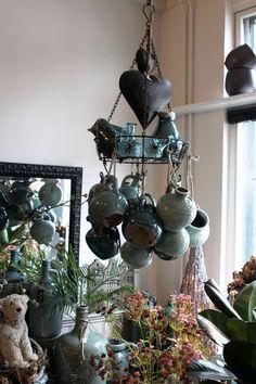 Wind Chimes, Outdoor Decor, Home Decor, Handmade Pottery, Decoration Home, Room Decor, Home Interior Design, Home Decoration, Interior Design