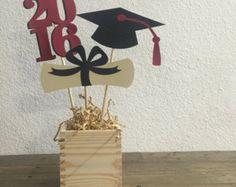 Graduation Table Centerpiece Graduation by PeanutGalleryStore