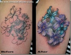 dark colored tattoos for coverups | Here are some examples of complete cover ups and a re-work. Keep this ...