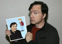 Billy West - the voice of Ren and Stimpy and so many Voice Acting, The Voice, Adult Animated Shows, Cartoon List, Parker Stevenson, Futurama, Man Humor, Funny People, Funny Photos