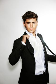 Zac Efron --now you know why I love men in suits ;)