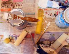 Bútorfestés 1. rész - ingyenes online tanfolyam kezdőknek Chalk Paint, Painted Furniture, Diy And Crafts, House Design, Mini, Painting, Vintage, Fal, Home Decor