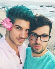 So happy and lucky to have met this boy 2 years ago! I'm so in love with you @misterpreda thanks for making me the happiest boy in the world every day! ❤️ (Joey on IG)