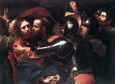 Taking of Christ by Caravaggio, Oil on canvas