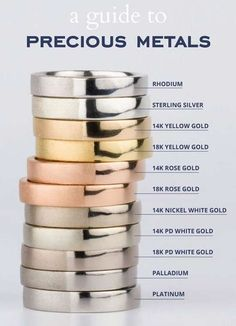 Wedding rings 101 - everything you need & 2018 wedding ring trends # . Wedding rings 101 – everything you need & 2018 wedding ring trends What Is White Gold, Jewelry Accessories, Jewelry Design, Jewelry Ideas, Fine Jewelry, Jewelry Making, Ruby Jewelry, Silver Jewelry, Statement Jewelry