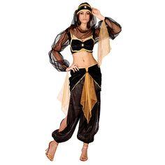 Costume de déguisement danseuse orientale
