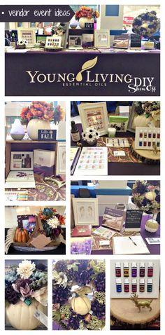 vendor event ideas - young living essential oils @diyshowoff