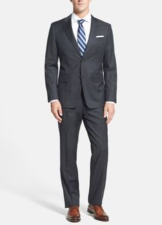 A classic John W. Nordstrom suit.