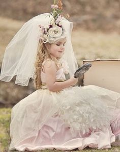 adorable miniature bride