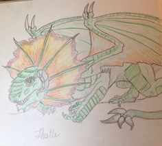 A forest dragon