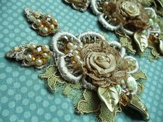 Ecru Gold Applique | Angela Campos (Tuca) | Flickr