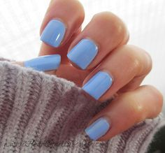 Essie Bikini So Teeny-LOVE this blue