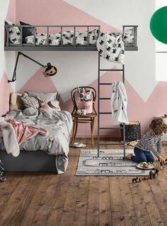 Een kinderkamer moet gezellig, praktisch en mooi zijn. Maar hoe combineer je ...