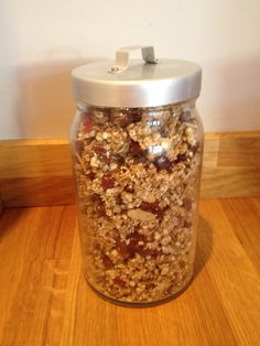 How to Make Tasty Sugar Free Granola #Healthyeating
